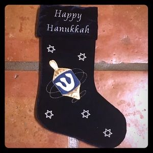 "Other - ✡️ ""Happy Hanukkah"" Alt-Christmas Stocking Judaica"